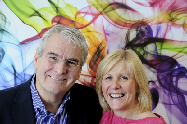 Mediascape co-founders, Angus and Shona Knight